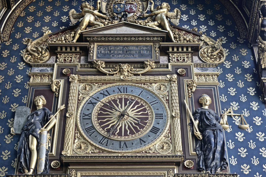 oldest public clock in paris