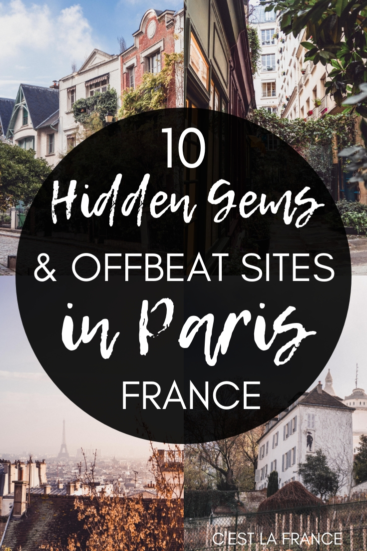 Hidden Gems & Unusual Things to do in Paris, France. Here's your guide to the best of offbeat activities and attractions in the city of love, Europe. City of Provins, Villa Leandré, Parisian statue of liberty, and more!