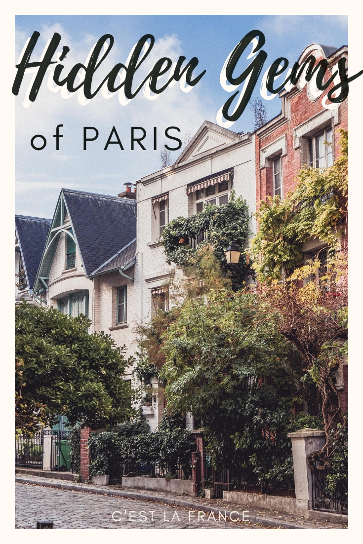 Hidden gems of Paris and unusual things to do in Paris that the locals don't want you to know about! Quirky Montmartre, unknown vineyards and other secrets of France