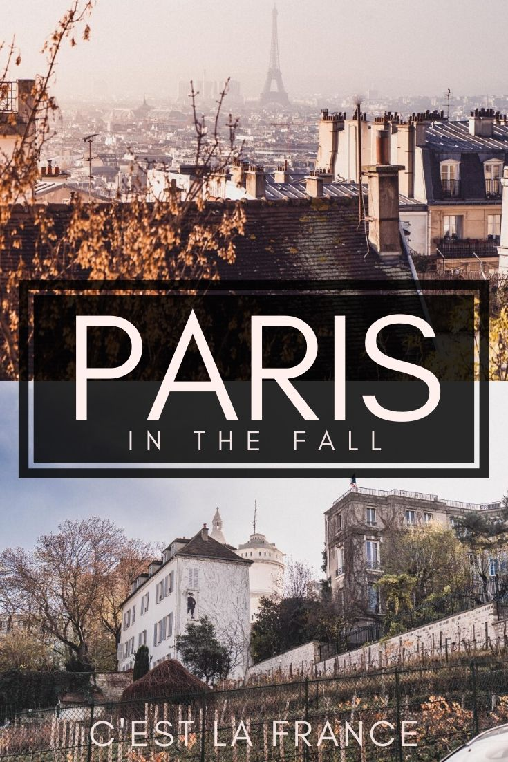 Looking for the best of fall in Paris? Here's your ultimate guide to why you must see the French capital of Paris in autumn