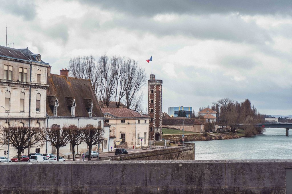 Doyenne Tower, Welcome to the Little Tower That Time Forgot in Chalon-sur-Saone Burgundy France