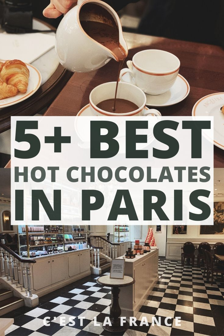 Where to Find the Best Hot Chocolate in Paris, France, looking for the best Paris chocolat chaud? here's your ultimate guide!